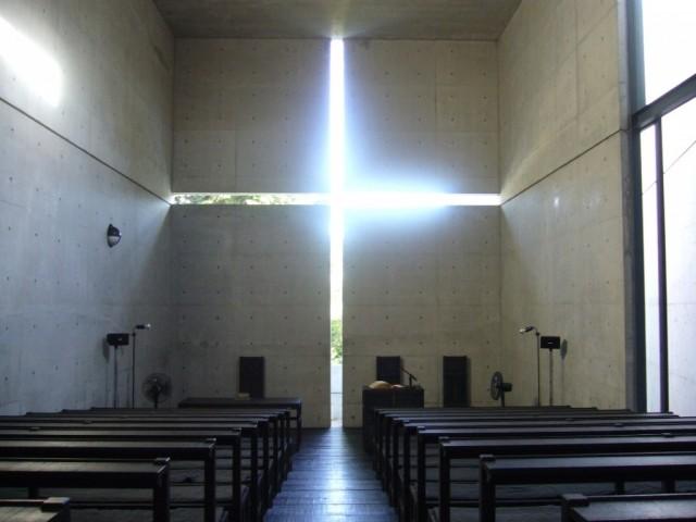 Ibaraki_Kasugaoka_Church_Light_Cross